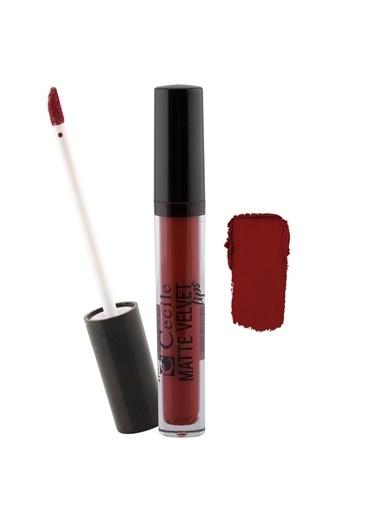 Cecile Matte Velvet Lips  04 Kırmızı